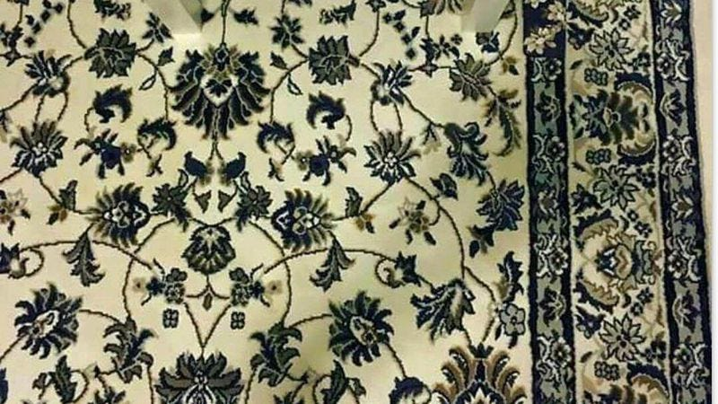Can you find the mythical lost iPhone that someone dropped on a flowery rug?