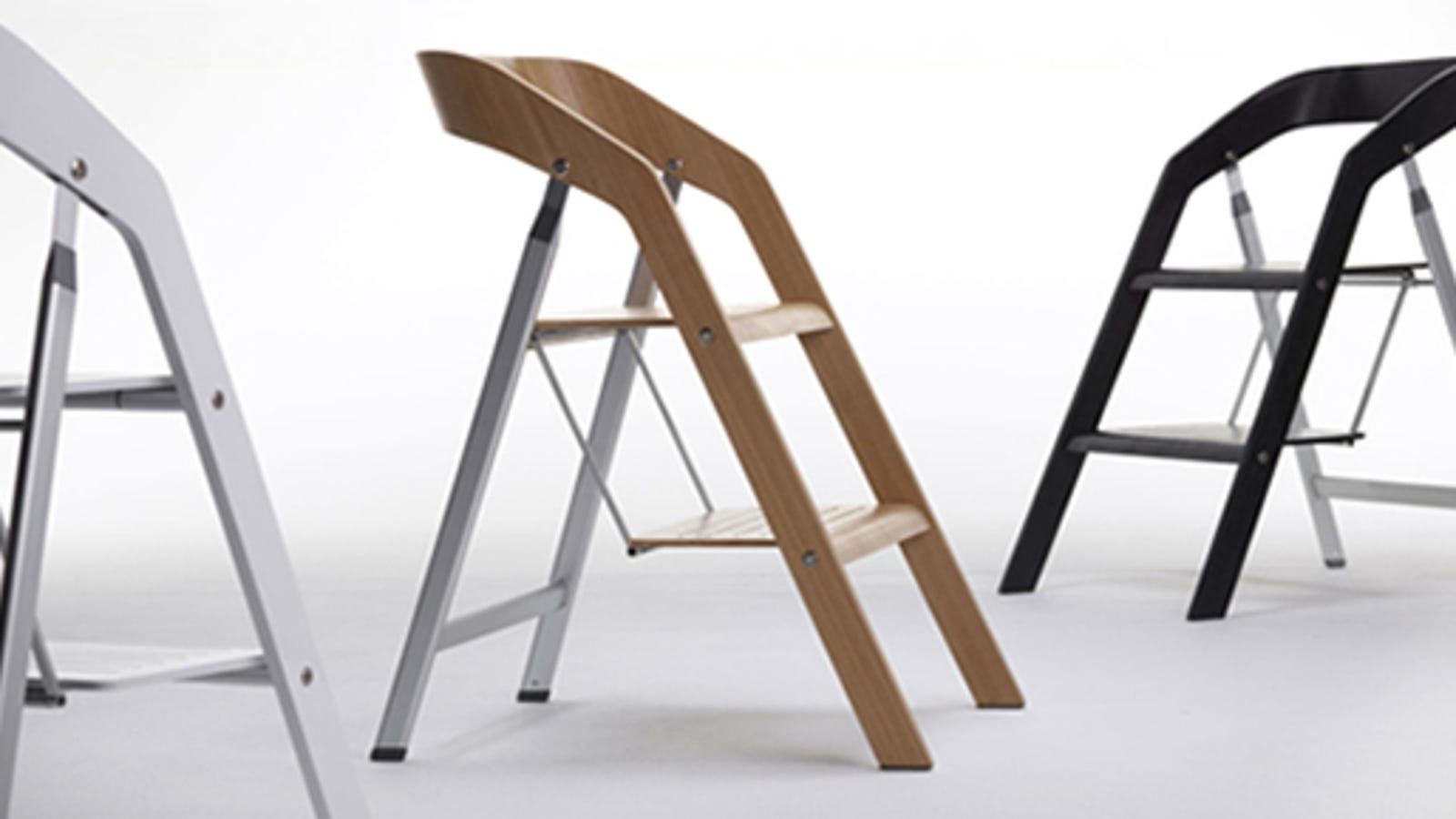 Pleasing This Sleek Chair Doubles As A Sensible Stepladder Caraccident5 Cool Chair Designs And Ideas Caraccident5Info
