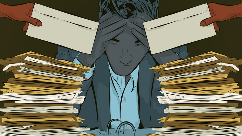 Illustration for article titled How to Deal When You're Overcommitted at Work