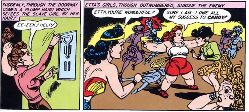 Illustration for article titled 10 Ways Etta Candy Was More Badass Than Wonder Woman