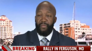 Tracy Martin, the father of Trayvon Martin, spoke on MSNBC's Weekends With Alex Witton Aug. 17, 2014, and told the host that the parents of Michael Brown have to stand up for their son and not let anyone assassinate his character.Weekends With Alex Witt screenshot