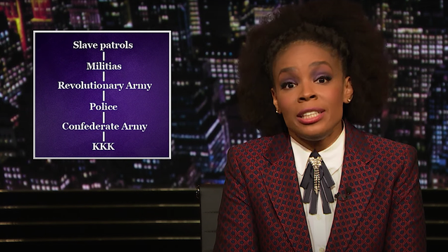 Amber Ruffin teaches White History Month proponents to be careful what they ask for