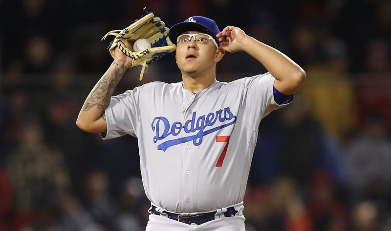 Illustration for article titled Dodgers Pitcher Julio Urias Arrested On Suspicion Of Domestic Violence