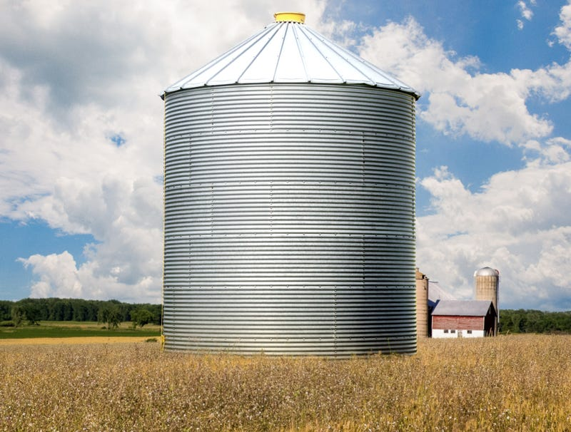 Illustration for article titled Report: Entire $12 Billion Farm Aid Package Already Blown On Really Big Silo