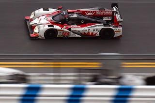 Illustration for article titled ROLEX 24: Shank Ligier-Honda leads opening practice