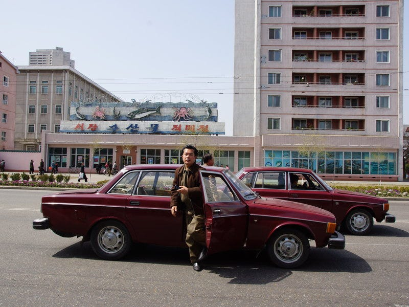 Illustration for article titled The Volvo 144 & the DPRK