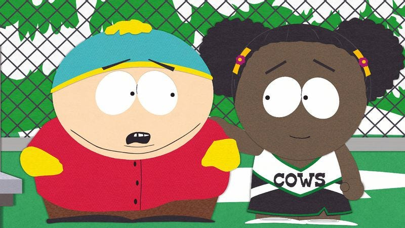 "Illustration for article titled South Park: ""Cartman Finds Love"""