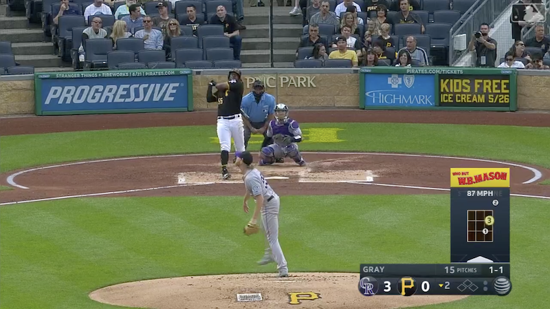 Mashing Titan Josh Bell Sends Another Worthless Baseball Screaming Into Hell