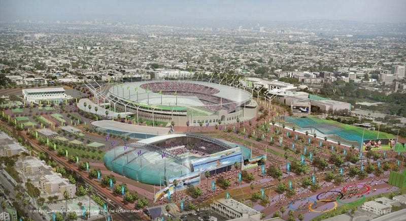 Proposal for the 2024 Summer Olympics by Southern California Committee for the Olympic Games
