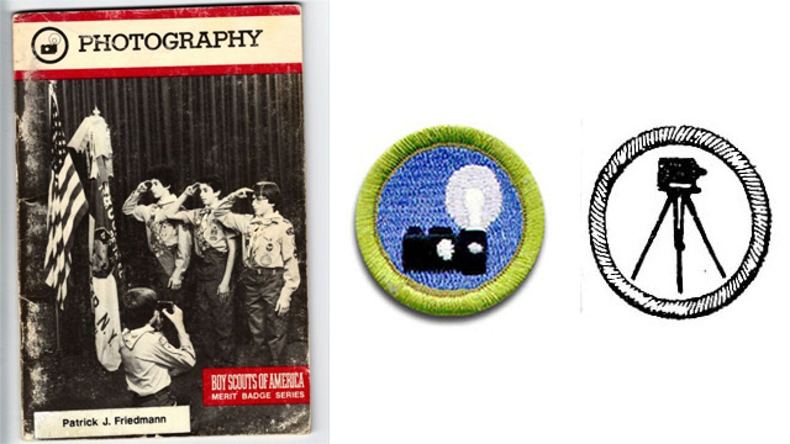 badge merit boy