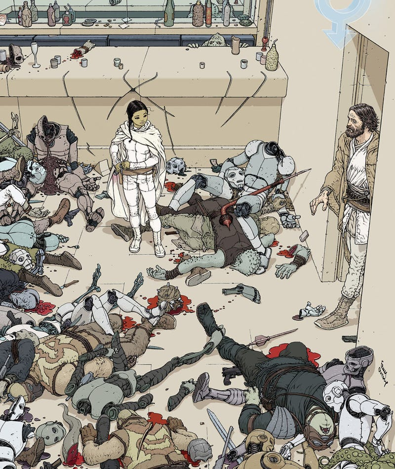Illustration for article titled Perhaps the greatest illustration of the aftermath of a Jedi battle