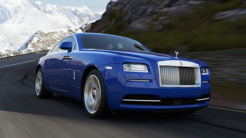 Illustration for article titled Forza 5 Adds Renault Formula E, Eau Rouge, And… Rolls-Royce Wraith?