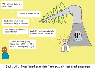 Illustration for article titled How To Tell If You're Really Dealing With A Mad Scientist