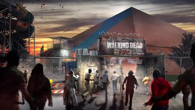 Coming Soon: The World s First Walking Dead Roller Coaster