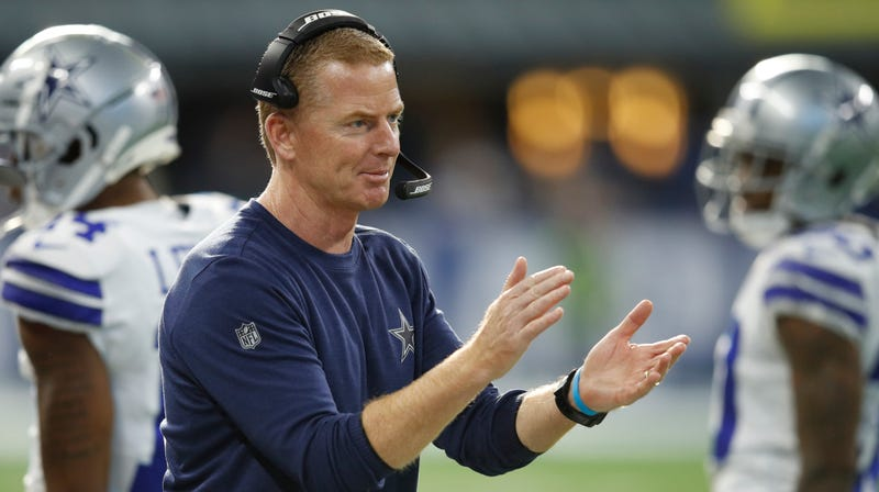 Illustration for article titled Report: Jason Garrett's Contract Will Be Extended To A Second Decade After Second Playoff Win