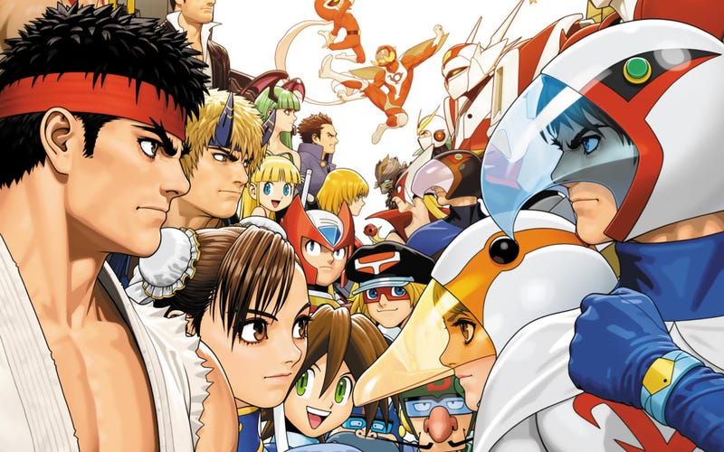 Illustration for article titled Don't Get Your Hopes Up for a Tatsunoko vs. Capcom Wii U Re-Release