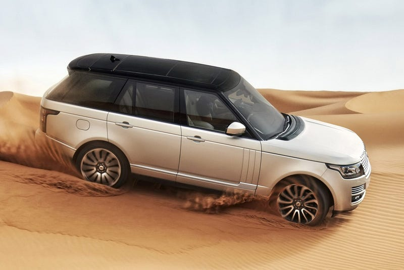 Illustration for article titled 2013 Range Rover: Exclusive Photos