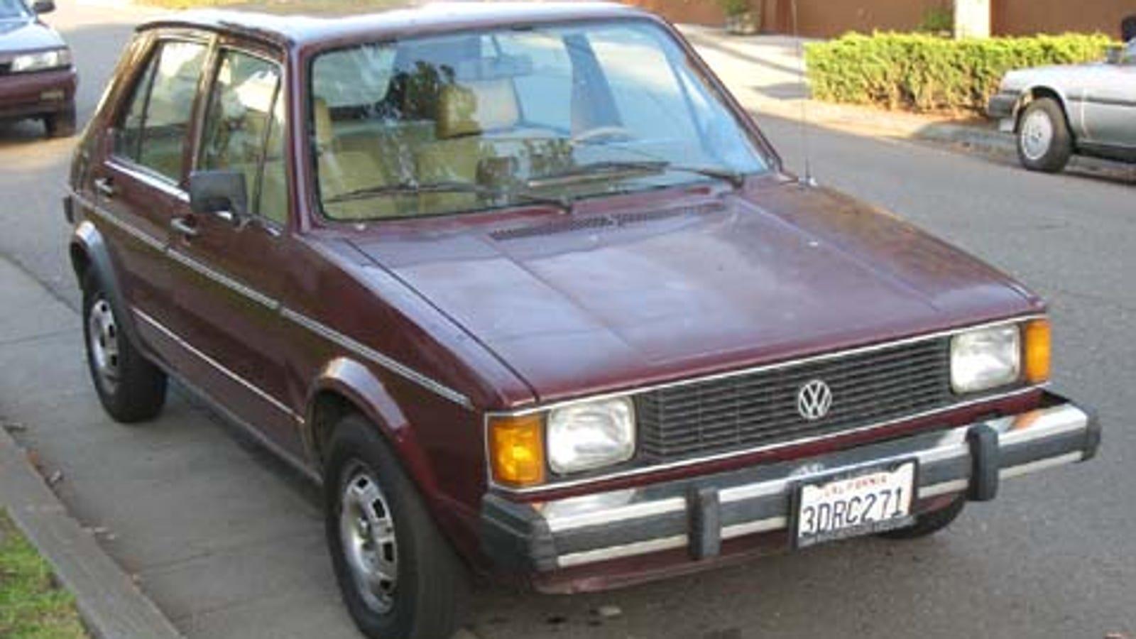 1983 Volkswagen Rabbit Ls Gti
