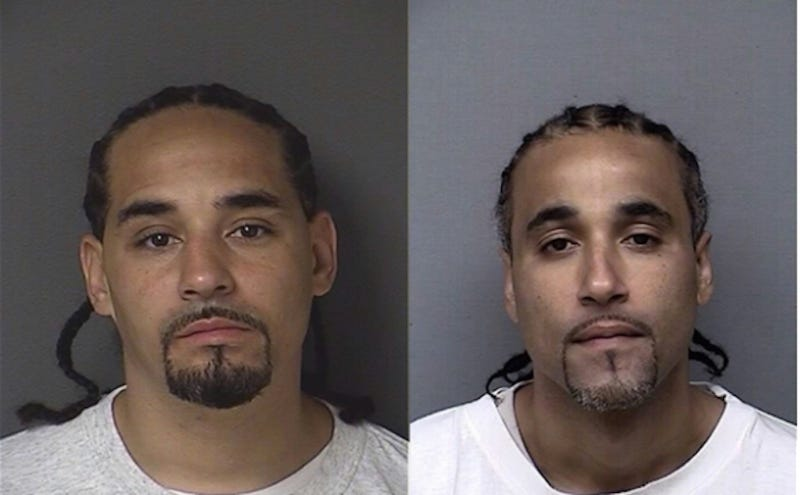 Ricky Amos (left) and Richard Jones (right)/Images via Kansas Department of Corrections.