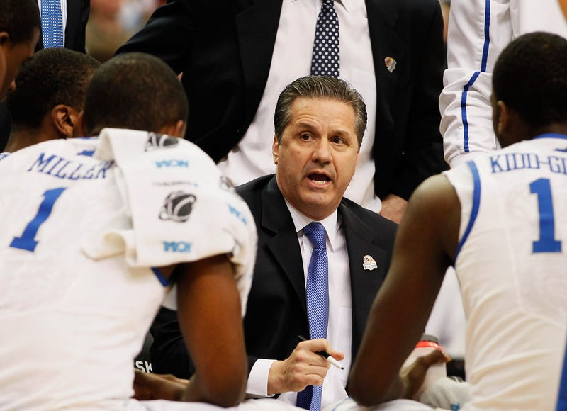 Illustration for article titled John Calipari Reminds You That You Care More About The Kentucky-Louisville Rivalry Than His Players Do
