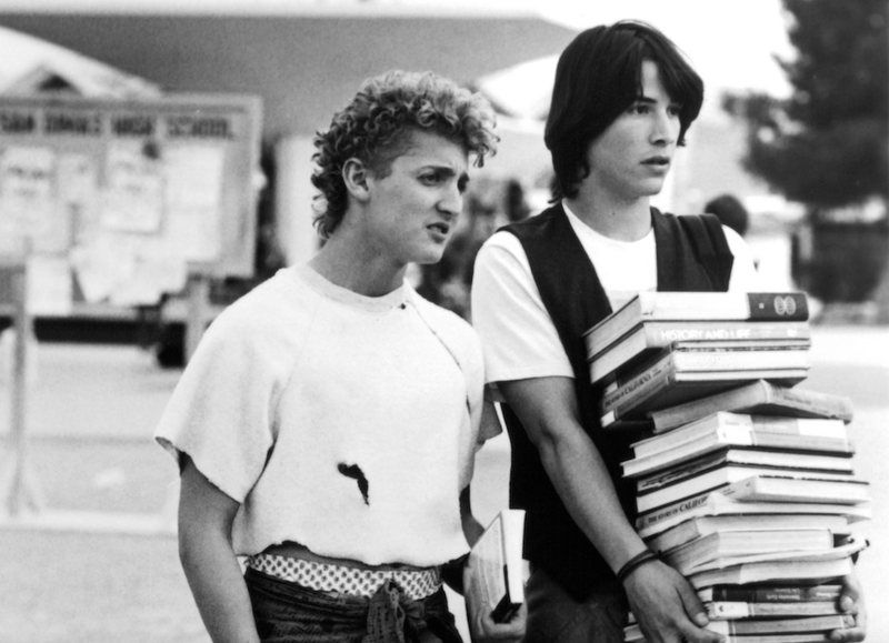 Bill & Ted's Excellent Adventure. (Photo: Michael Ochs Archives/Getty Images)