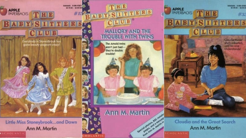 Illustration for article titled Members of the Baby-Sitters Club, Ranked