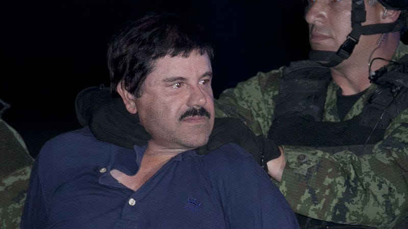 Illustration for article titled El Chapo Reportedly Had Time for Erectile Disfunction Surgery While on the Run