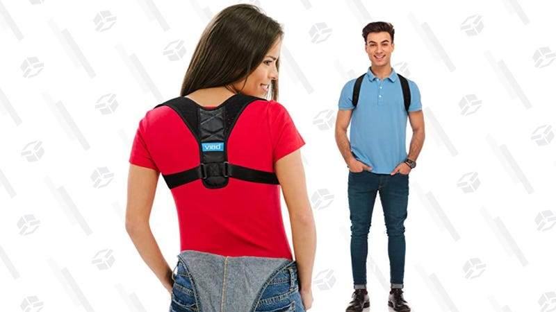 Posture Corrector for Men and Women | $19 | Amazon | Clip 15% Off Coupon
