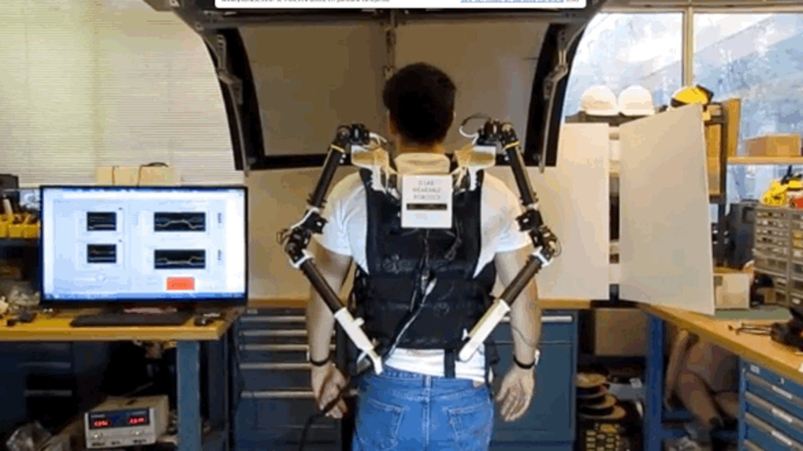 Este robot del MIT multiplicará tus brazos por dos