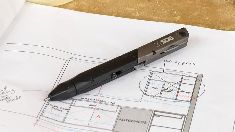 Illustration for article titled SOG's New Multitool Pens Are Mightier Than Swords