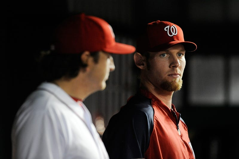 Illustration for article titled The Washington Nationals Are Shutting Down Stephen Strasburg A Little Earlier Than Expected