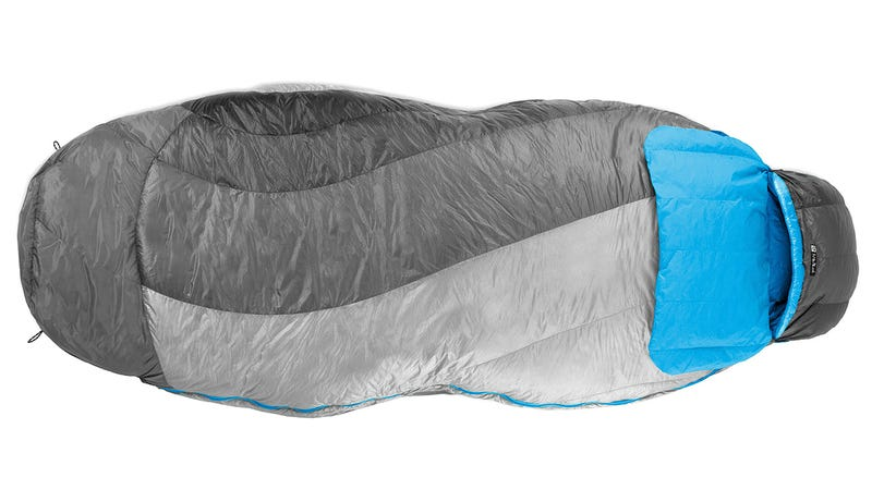 Illustration for article titled A Simple Design Tweak Makes Sleeping Bags Less Like Straitjackets