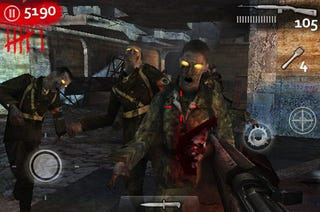 Illustration for article titled Call of Duty: World At War Zombies Attack iPhone