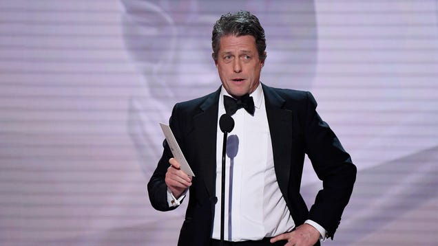 Hugh Grant is either an old man or movie theaters are just too damn loud