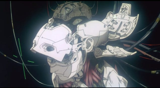 Ghost in the Shell animation intro turned into live action
