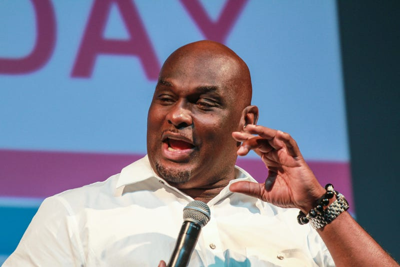 Tommy Ford speaks at the ABFF Community Day on June 19, 2016, in Miami.Thaddaeus McAdams/Getty Images