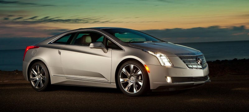 Illustration for article titled You Can Get An Absolutely Insane Deal On The Cadillac ELR Right Now