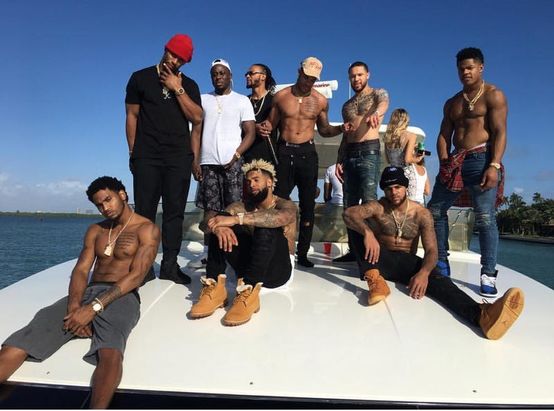 Giants WRs Flew To Miami For One Hell Of A Party 678eba811