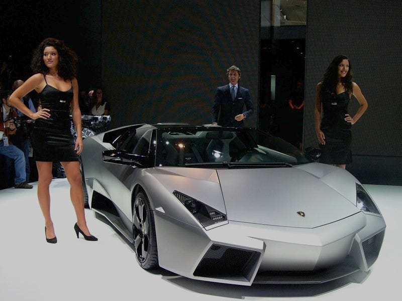 Bon You And 19 Of Your Fellow Oil Sheikhs Might Want To Consider The 205 MPH Lamborghini  Reventon Roadster.