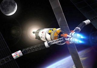 Illustration for article titled NASA to Test Plasma Rocket at International Space Station