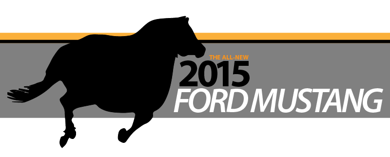 "Illustration for article titled ""Sources"" claim Ford will revise Mustang logo for 2015"