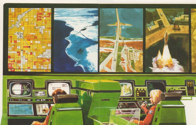 Illustration for article titled How an 80s Book for Kids Predicted Today's Spy Satellites and Cyberwars
