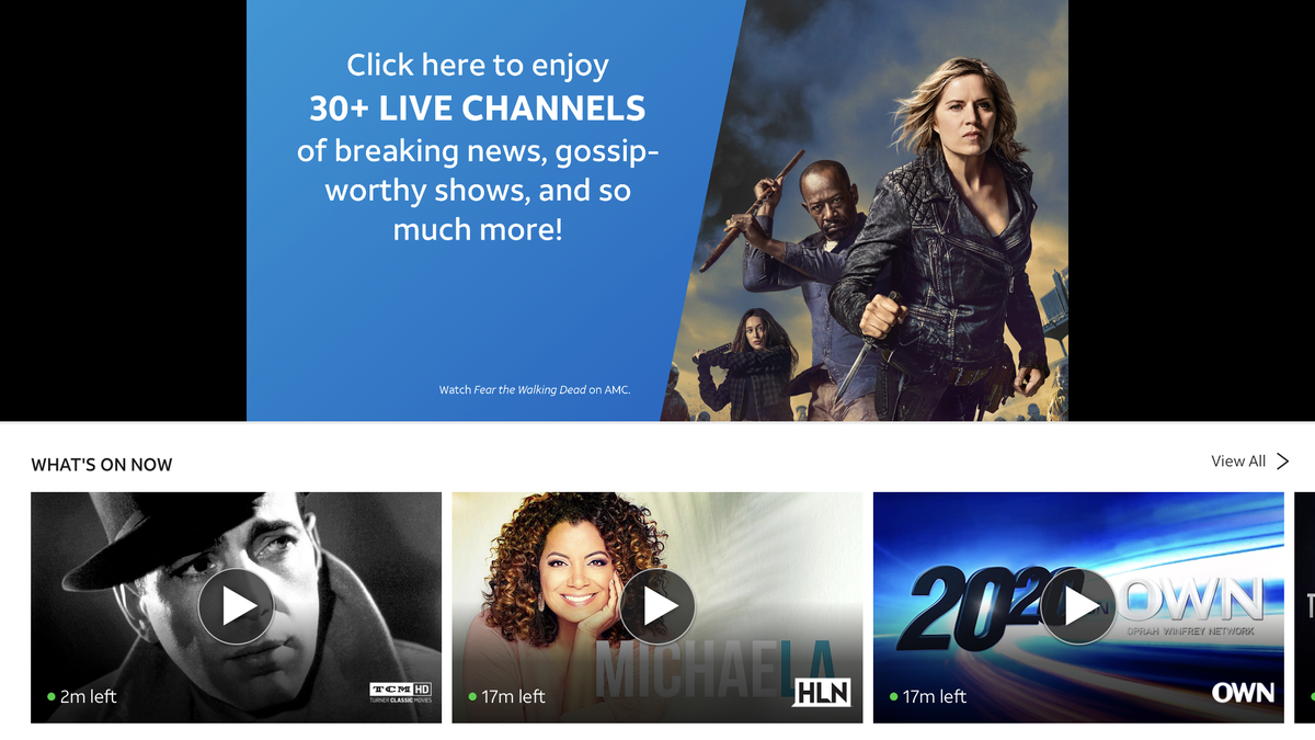 AT&T's WatchTV Is the Very Cheapest Way to Stream Live TV