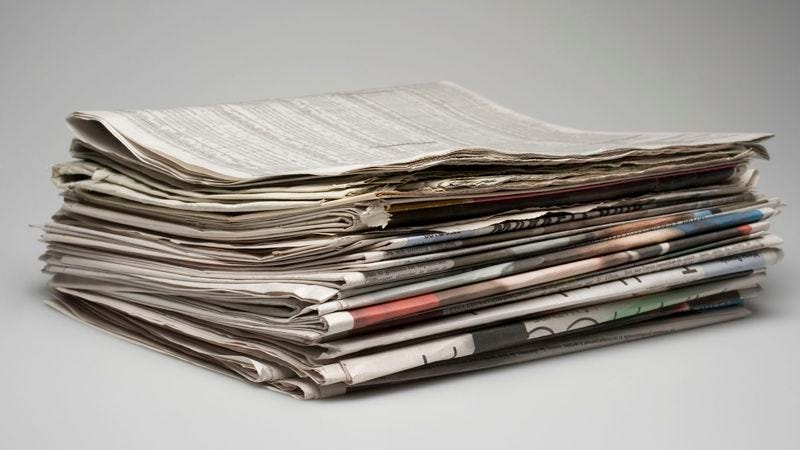 The paper-based textual medium passed away early today, sources say.