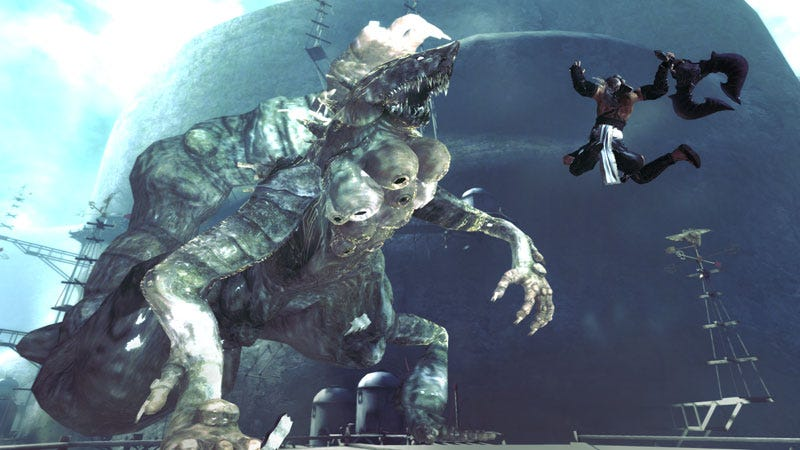Illustration for article titled Nier Shows Square Enix's Foul Mouthed Side