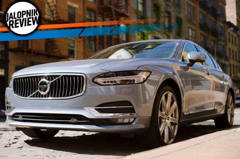 The Volvo S90 Is The World's Best Car At Just Being A Car