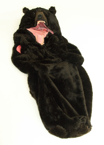 Illustration for article titled Bear Sleeping Bag: Getting Mauled To Death Might Be a Better Option
