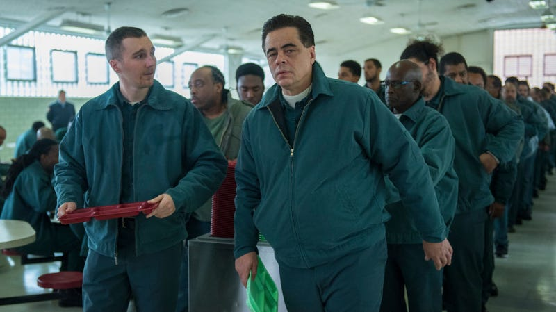Paul Dano and Benicio del Toro star in Escape At Dannemora