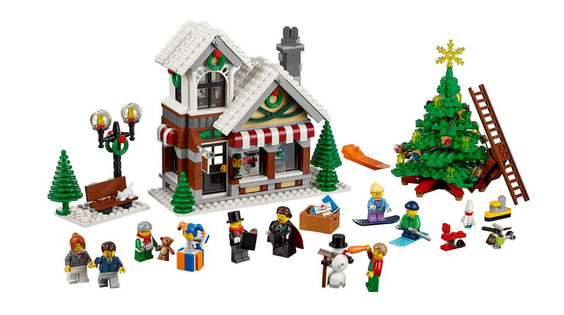 LEGO Rant: The Winter Village 2015 Toy Shop set is lame. - YouTube