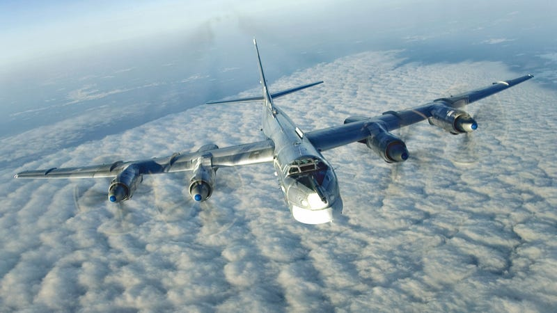 A Russian Tu-95 'Bear.' Photo credit: Russian Ministry of Defense